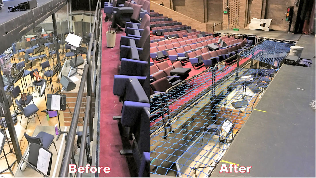 Safety Nets for Stage and Theatre