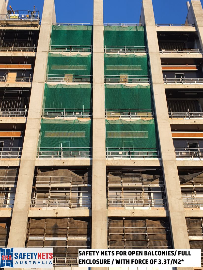 PROTECTION NETTING FOR BALCONIES